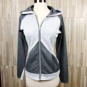 ASICS Grey Hoodie Workout Sweater